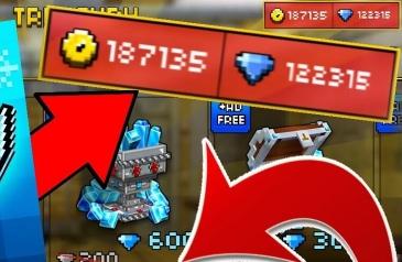 Pixel Gun 3D взломанный