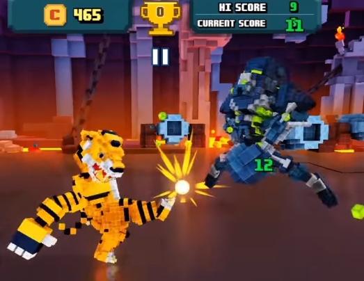 Super Pixel Heroes взлом андроид