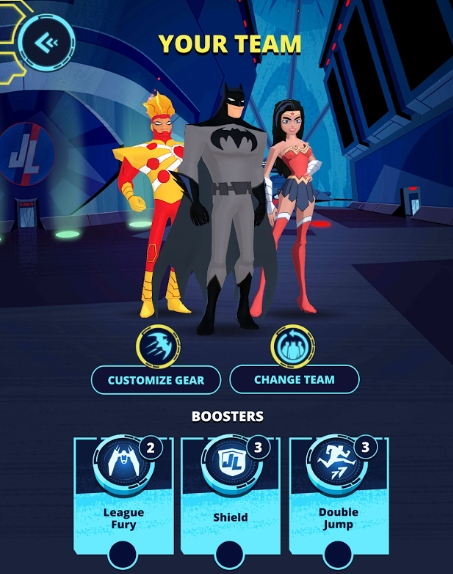 Justice League Action Run андроид деньги бесплатно