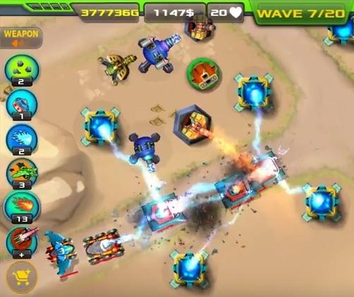 Tower Defense: Alien War TD взлом
