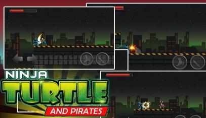 Ninja and Turtle Shadow Pirate скачать бесплатно