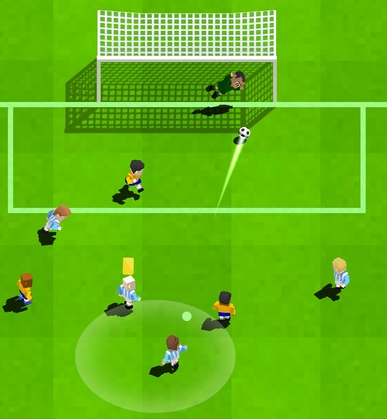 Retro Soccer мод бесплатно