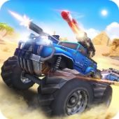 Overload: MOBA Car Shooting взлом андроид