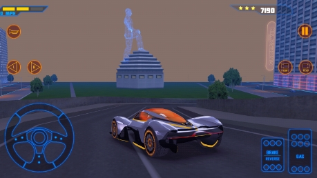 Concept Cars Driving Simulator бесплатно