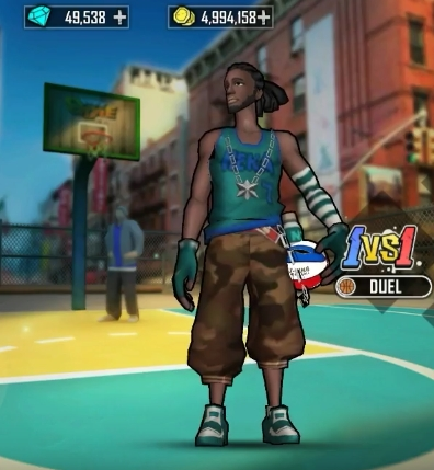 Street Wars: Basketball андроид