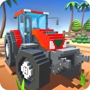 Блочный Farm поле работник SIM андроид