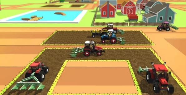 Блочный Farm поле работник SIM взлом