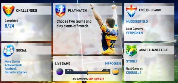 Rugby League 17 андроид бесплатно