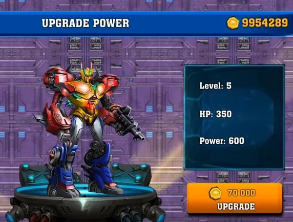 Battle of Transformers бесплатно деньги