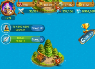 King of Seas: Islands Battle бесплатно деньги