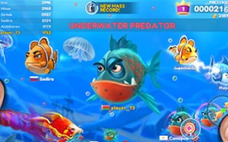 взлом Fish Now: Online io Game & PvP - Battle