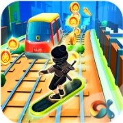 Ninja Subway Surf: Rush Run In City Rail андроид