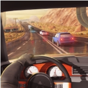 взлом Traffic Xtreme 3D: Fast Car Racing & Highway Speed на андроид