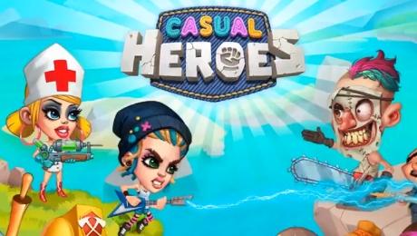 Casual Heroes взлом на андроид
