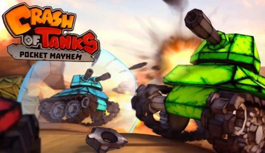 взлом Crash of Tanks: Pocket Mayhem на андроид