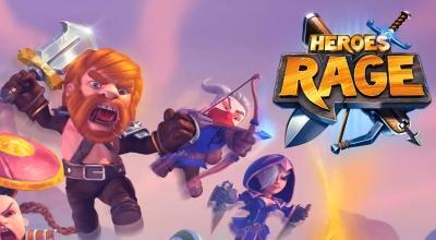 Heroes Rage взлом на андроид