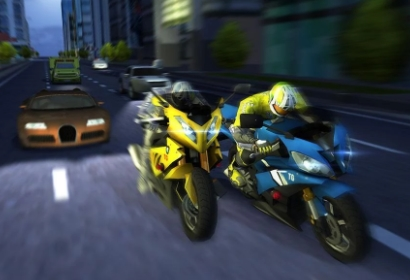Rage Biker: Traffic Racing взлом