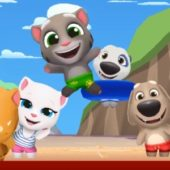 взлом Talking Tom Pool андроид