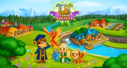 взлом Farm Fantasy: Happy Magic Day in Wizard Harry Town