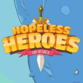 Hopeless Heroes: Tap Attack взлом на андроид