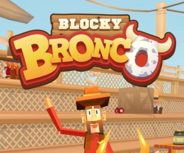 Blocky Bronco взлом на андроид
