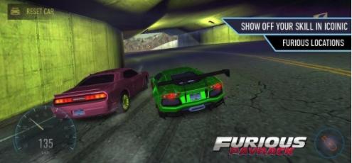 взлом Furious Payback Racing