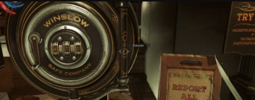 Dishonored коды на сейфы