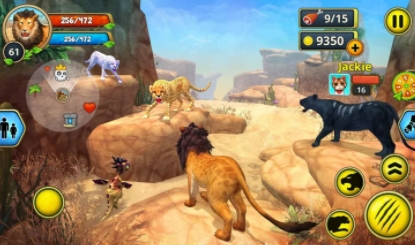 Lion Family Sim Online взлом на android