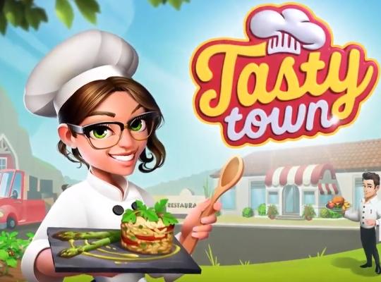 Tasty Town взлом на андроид