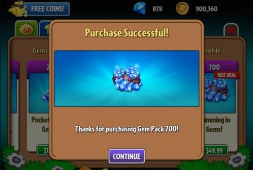 код на деньги на игру зомби против растений 2