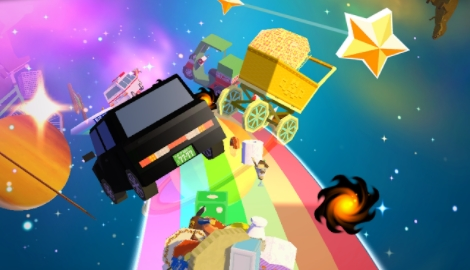 взлом AMAZING KATAMARI DAMACY на андроид