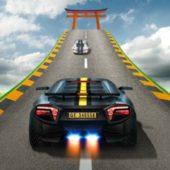 взлом Impossible Car Stunt Racing андроид