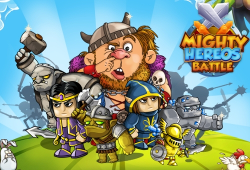 Mighty Heroes Battle взлом