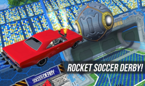 Rocket Soccer Derby взлом на андроид