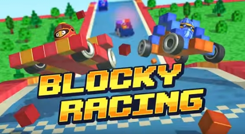 Blocky Racing взлом