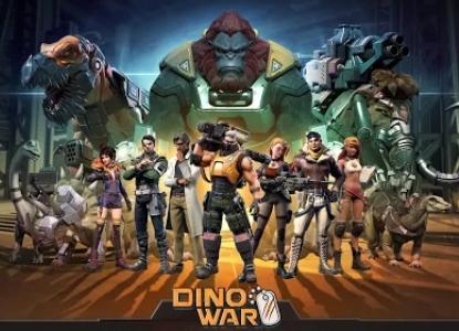 Dino War взлом на андроид