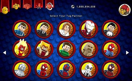 LEGO Marvel Super Heroes cheat