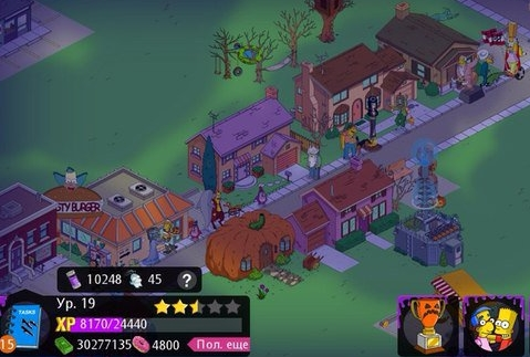 Simpsons Tapped Out взлом