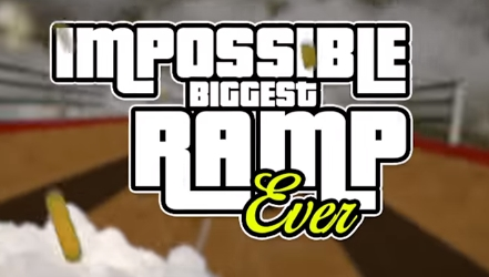 взлом Impossible Biggest Ramp Ever