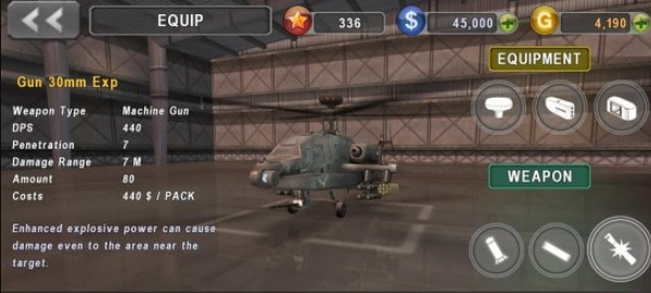 GUNSHIP BATTLE золото