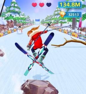 Лыжница-звезда мод