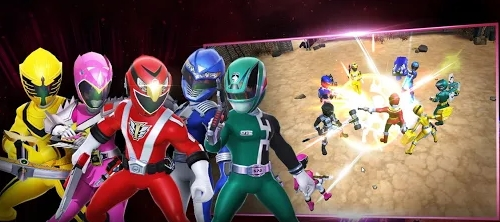 Power Rangers : All Stars мод