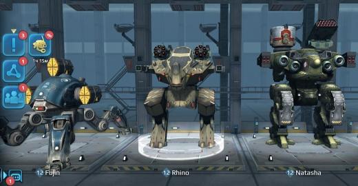 War Robots роботы