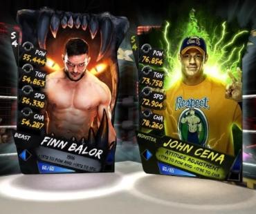 WWE SuperCard коды