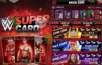 WWE SuperCard накрутка