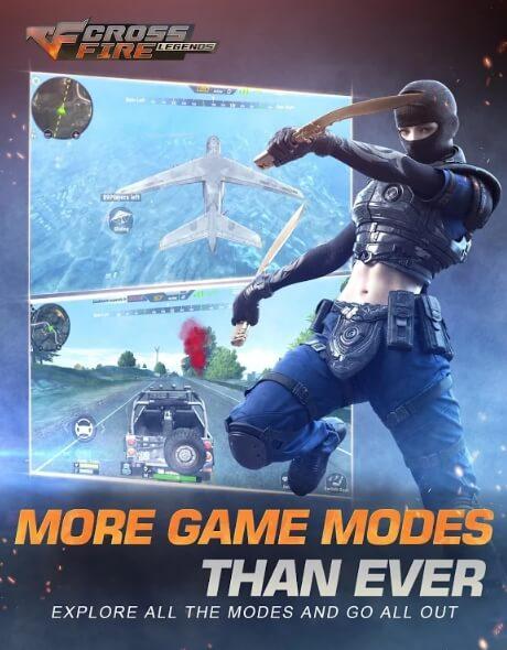 CrossFire: Legends мод