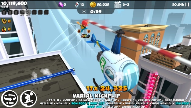 Epic Skater 2 cheat