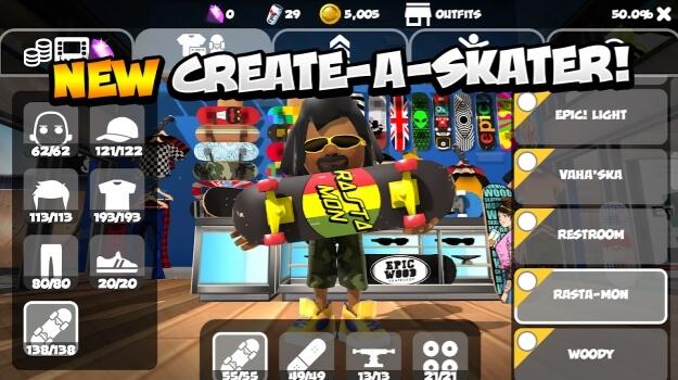 Epic Skater 2 hack