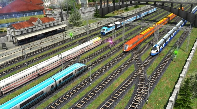 Euro Train Simulator 2018 мод