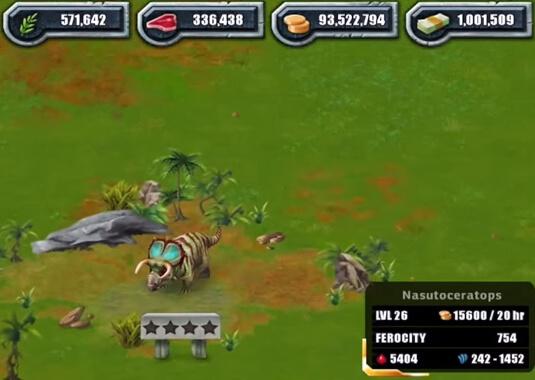 Jurassic Park Builder много денег